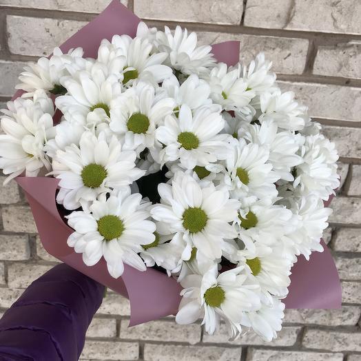 ✅ Букет кустовой хризантемы