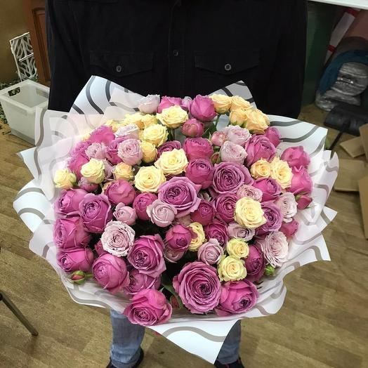 Бомбасми: букеты цветов на заказ Flowwow