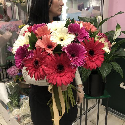 Гербера микс: букеты цветов на заказ Flowwow