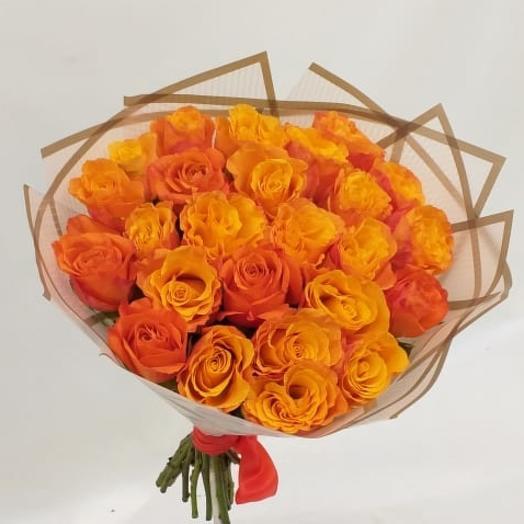 Апельсиновый рай: букеты цветов на заказ Flowwow