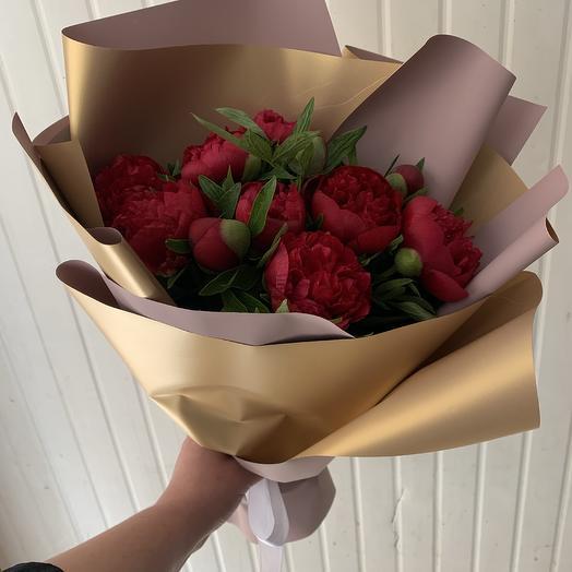Пионы: букеты цветов на заказ Flowwow