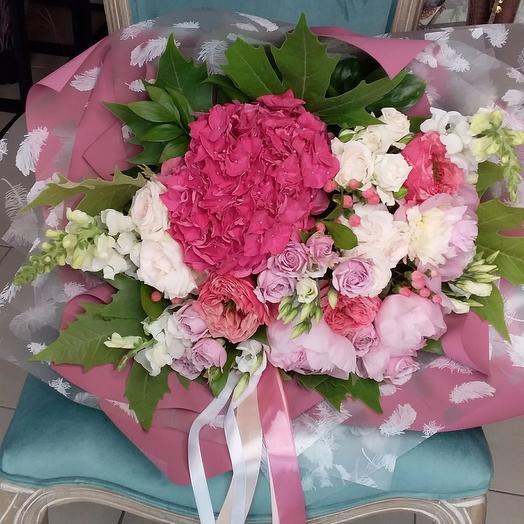 """""""Мисс лаванда"""": букеты цветов на заказ Flowwow"""