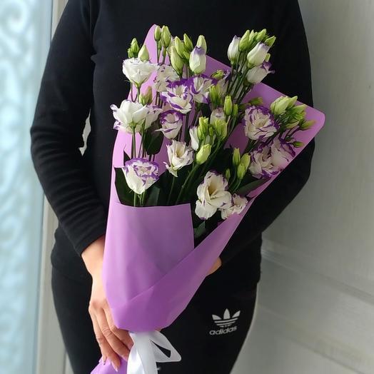 Мирабель 🌸эустомы: букеты цветов на заказ Flowwow