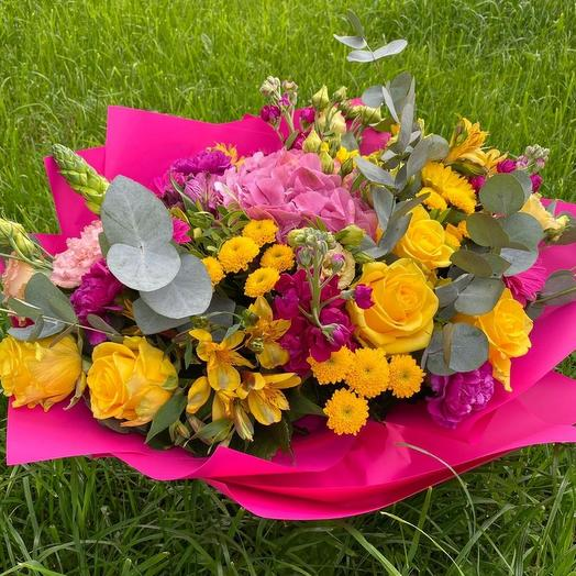 Букет Олимпия: букеты цветов на заказ Flowwow