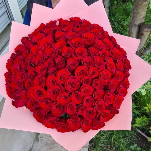 101 роза Эквадор