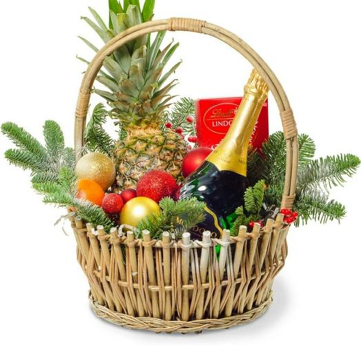 New Year's Basket