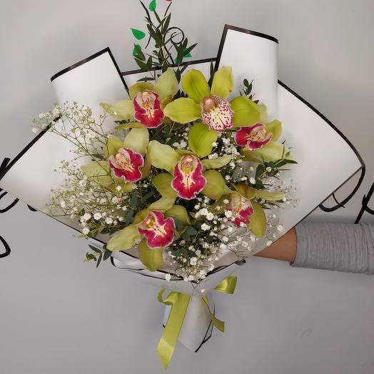 """Букет """"Зеленая орхидея"""""""