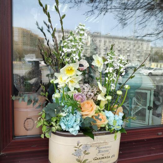 Композиция Раз в год сады цветут