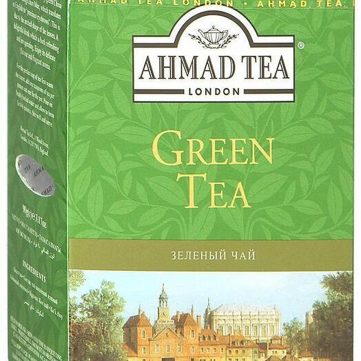 Чай Ahmad Tea зеленый 200 гр