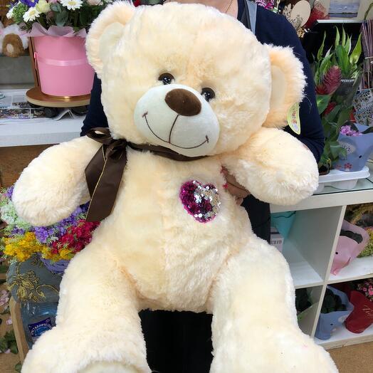 Медведь «Я люблю тебя»