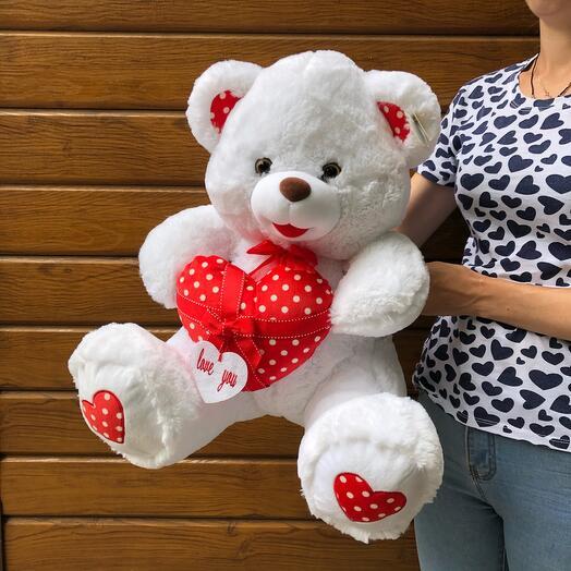 Flowers Lovers - Мишка с сердцем