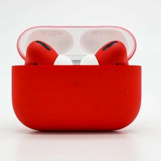Беспроводные наушники Apple AirPods Pro Red Matte Красные Матовые