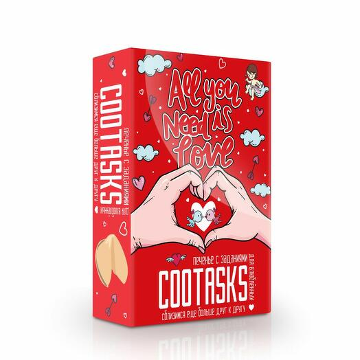 Печенье с заданиями Cootasks Is love