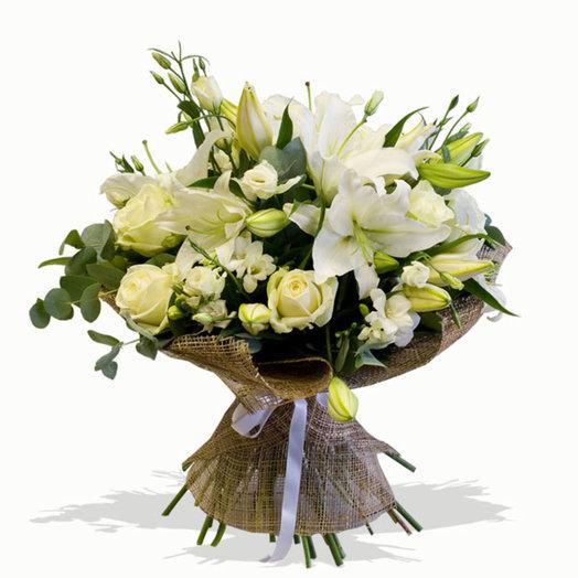 Букет сборный Вдохновение: букеты цветов на заказ Flowwow