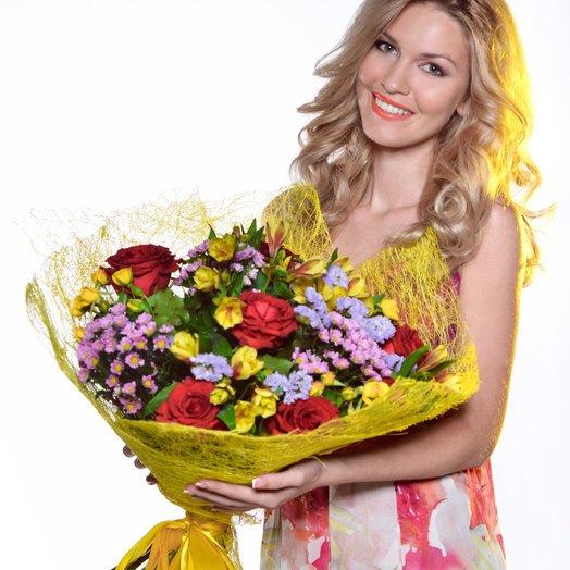 МаксиБон 1: букеты цветов на заказ Flowwow
