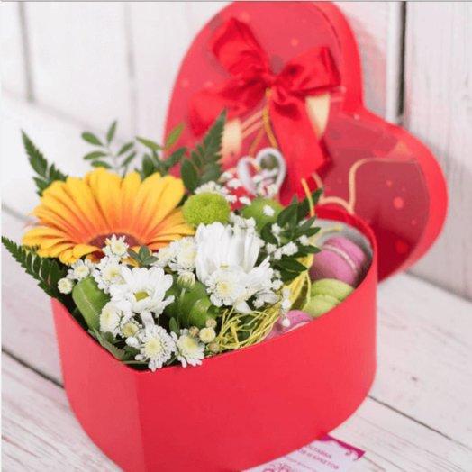 Рыжее Солнце: букеты цветов на заказ Flowwow