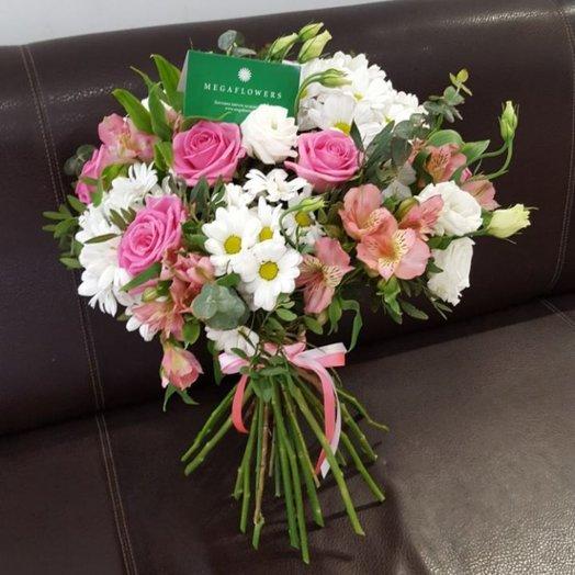 Мамина улыбка: букеты цветов на заказ Flowwow