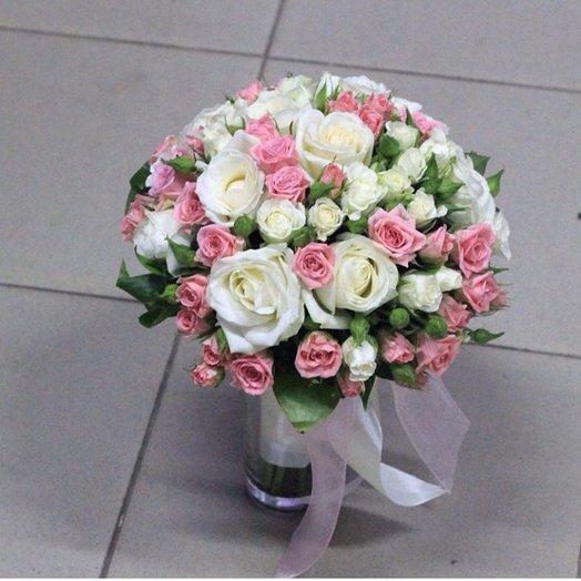 Прекрасные розы: букеты цветов на заказ Flowwow
