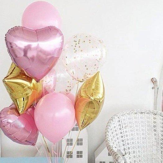 "Воздушная композиция ""Романтика"": букеты цветов на заказ Flowwow"