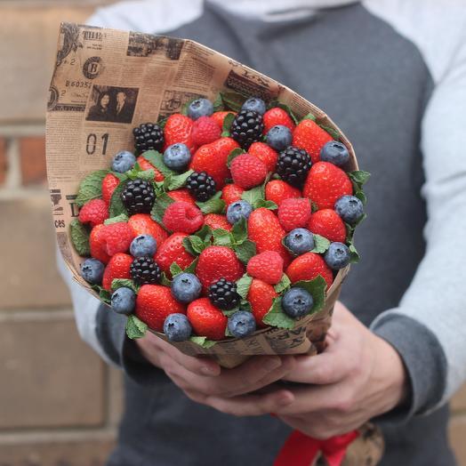 Лесные ягоды мини: букеты цветов на заказ Flowwow