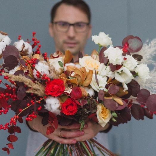 Зимний Шерлок: букеты цветов на заказ Flowwow