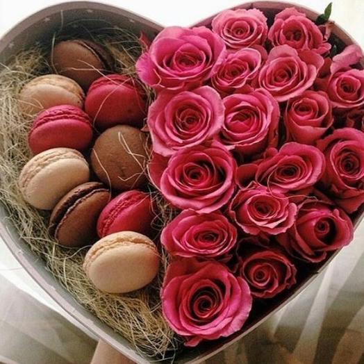 Сладенькая коробочка: букеты цветов на заказ Flowwow