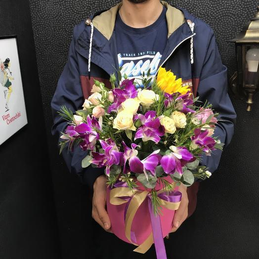 Комплимент: букеты цветов на заказ Flowwow