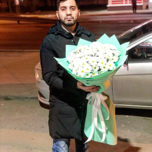 Букет хризантема 2: букеты цветов на заказ Flowwow