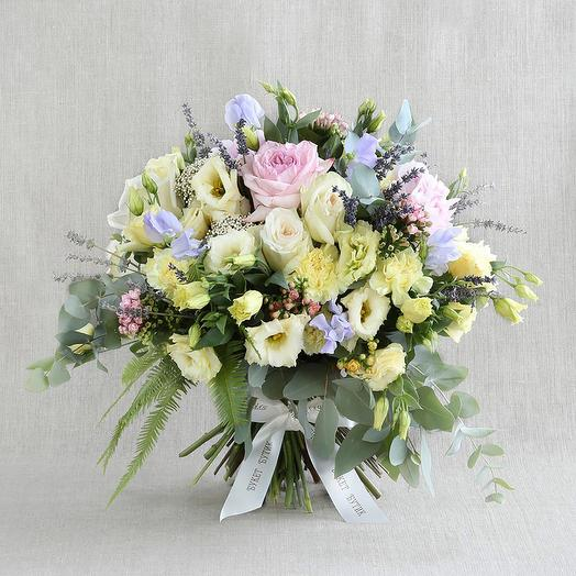 """Большой букет """"Для Девы"""": букеты цветов на заказ Flowwow"""