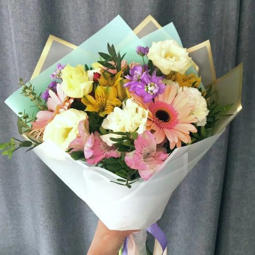 """Букет """"От Зайки"""": букеты цветов на заказ Flowwow"""