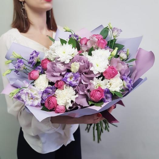 Букет 77: букеты цветов на заказ Flowwow