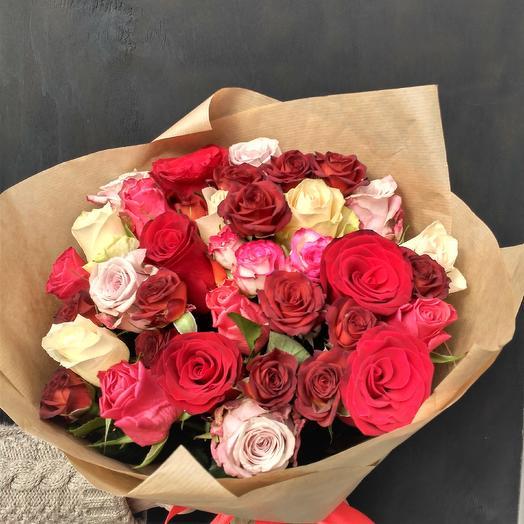 """Букет """"Креолка"""": букеты цветов на заказ Flowwow"""
