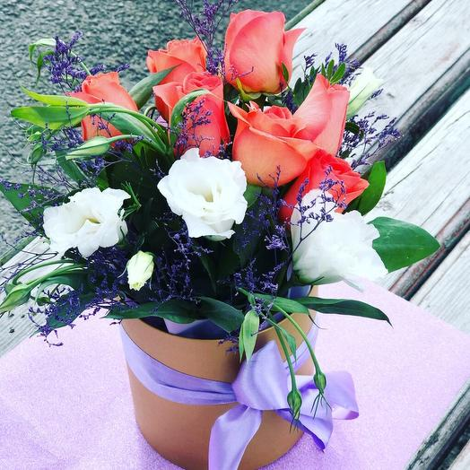 Коралловое небо: букеты цветов на заказ Flowwow