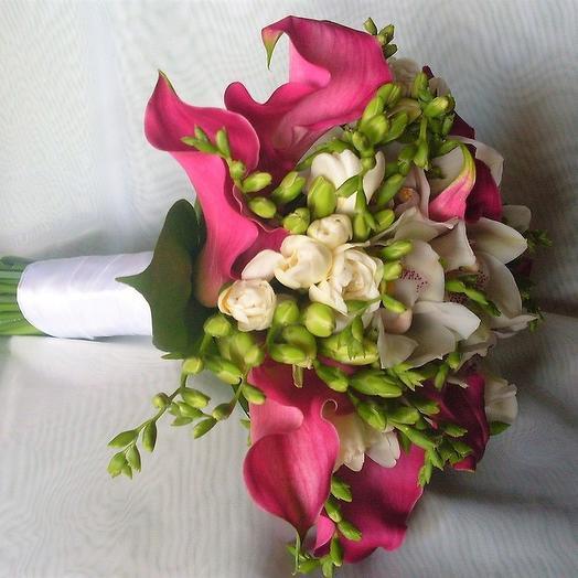 """Свадебный букет """"Волшебный миг"""": букеты цветов на заказ Flowwow"""