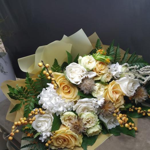 Авторский букет «Милана»: букеты цветов на заказ Flowwow