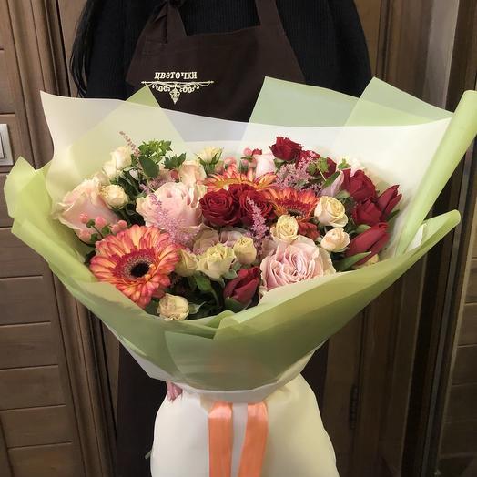 """Букет цветов """"Венецианское кружево"""""""
