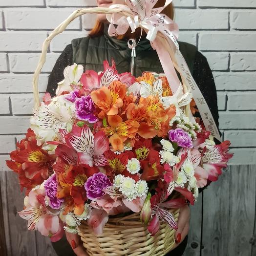 "Корзина ""Нежное Утро"": букеты цветов на заказ Flowwow"