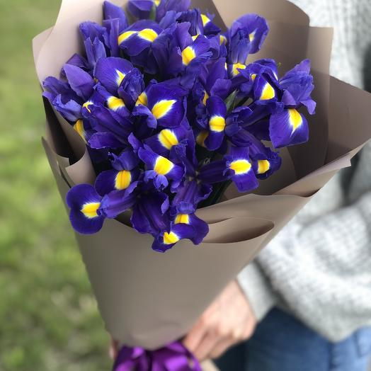 Ирисовое утро: букеты цветов на заказ Flowwow