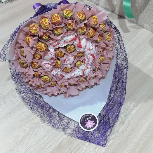 Раффа и Чупс: букеты цветов на заказ Flowwow