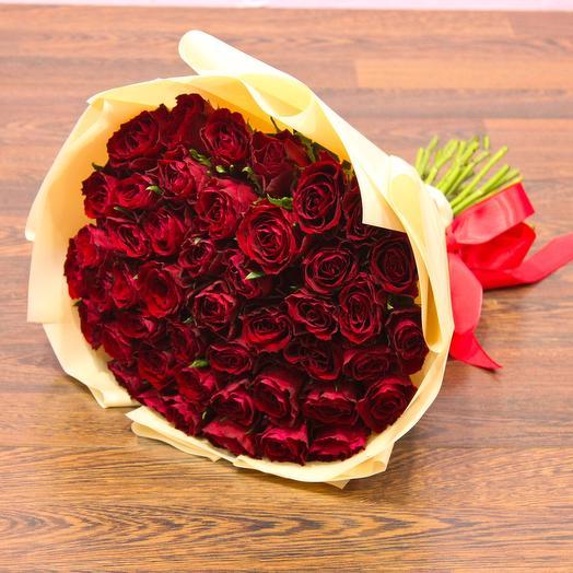 51 Роза 40см: букеты цветов на заказ Flowwow