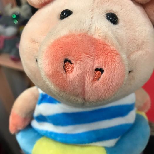 Свинка в тельняшке