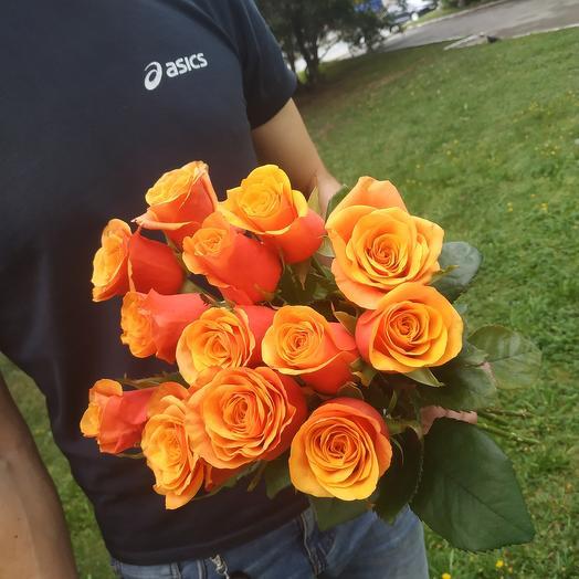 Розы 13 шт