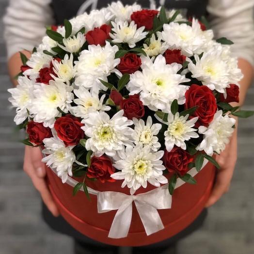 Цветы в коробке 00065777