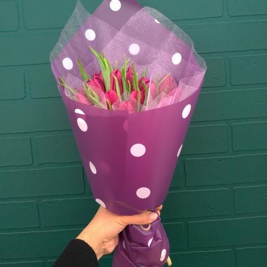 Тюльпаны 19 шт