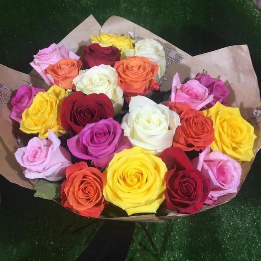 21 Роза Эквадор микс