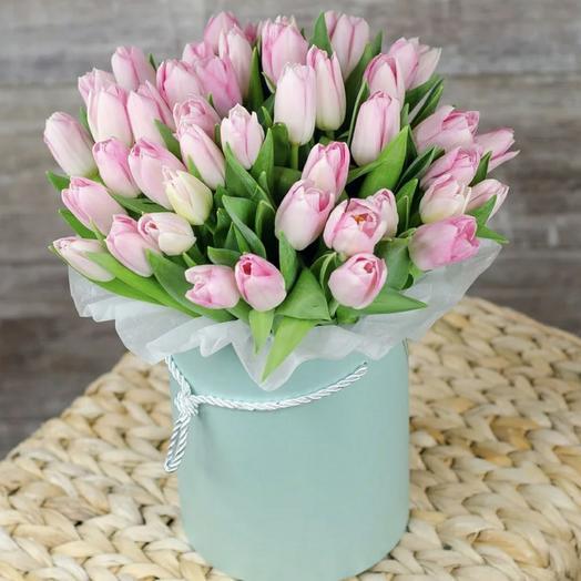 Тюльпаны в коробке да