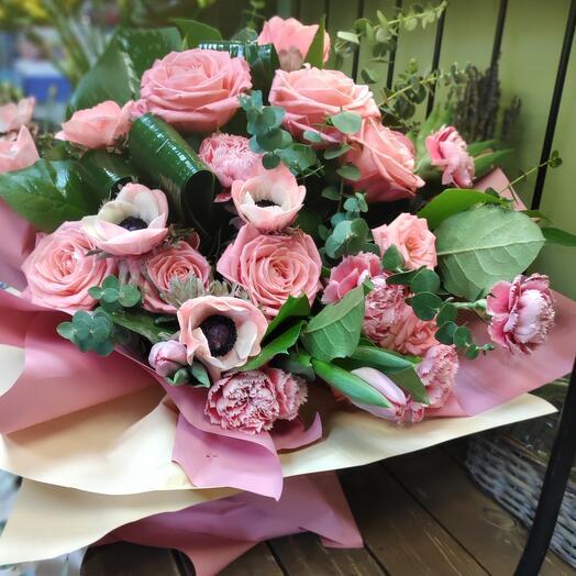 Букет цветов Лайма