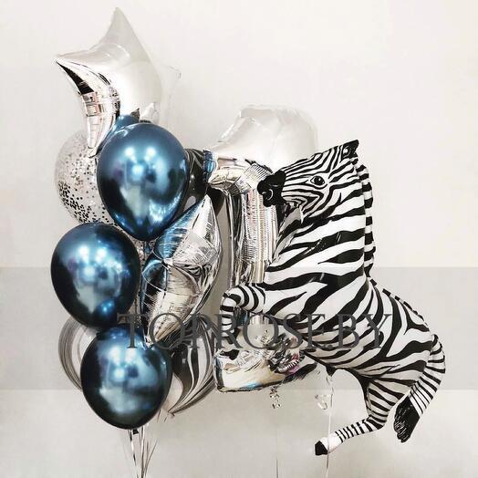 Набор шаров «Зебра»