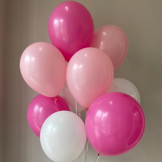 Гелиевые шары 10шт