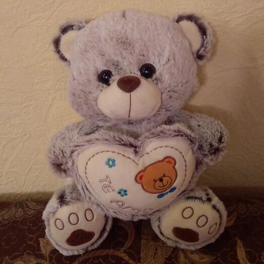 Мишка с сердцем арт 6503